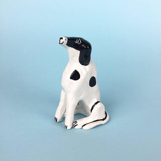 Image of Sitting Dog