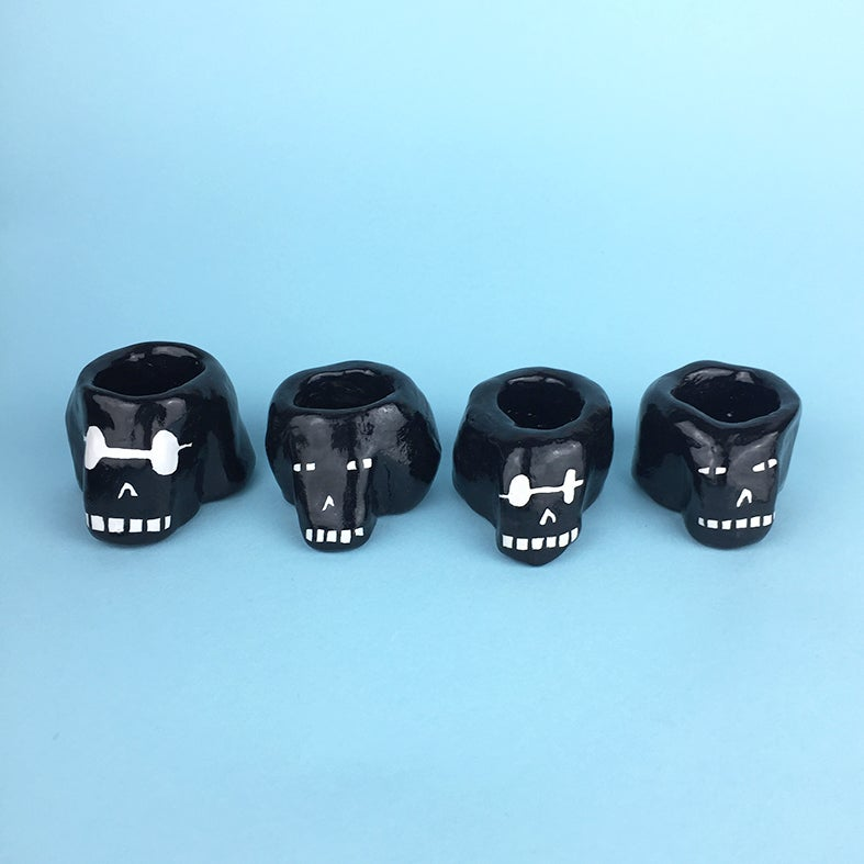 Image of Big Black Skull