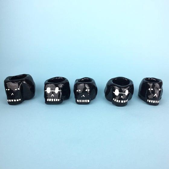 Image of Small Black Skull
