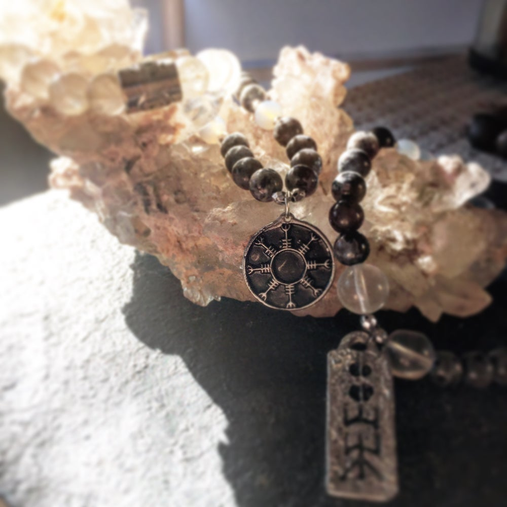 Image of Vegvisir Rune of Abundance~To find Success and Luck