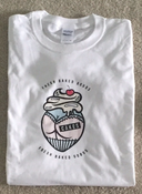 Image of CAKES brand logo T-shirt - AUTOGRAPHED
