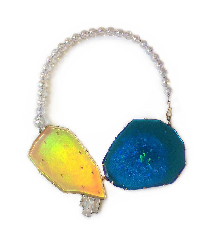 Image of Nikki Couppee Hologem Sapphire Necklace