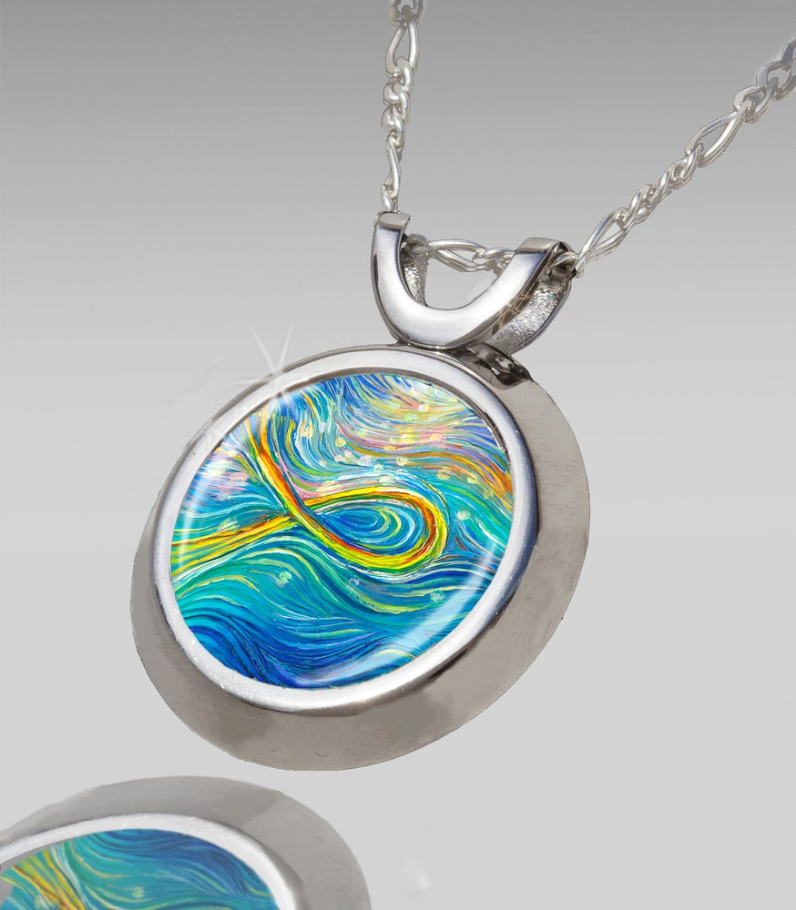 Image of The Miracle Fish - Personal Transformation Energy Pendant