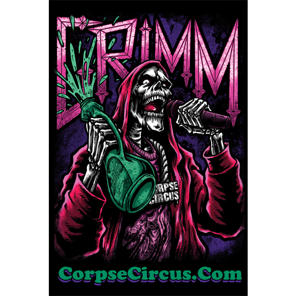 Image of Grimm - Sippin Syrup (Poster)
