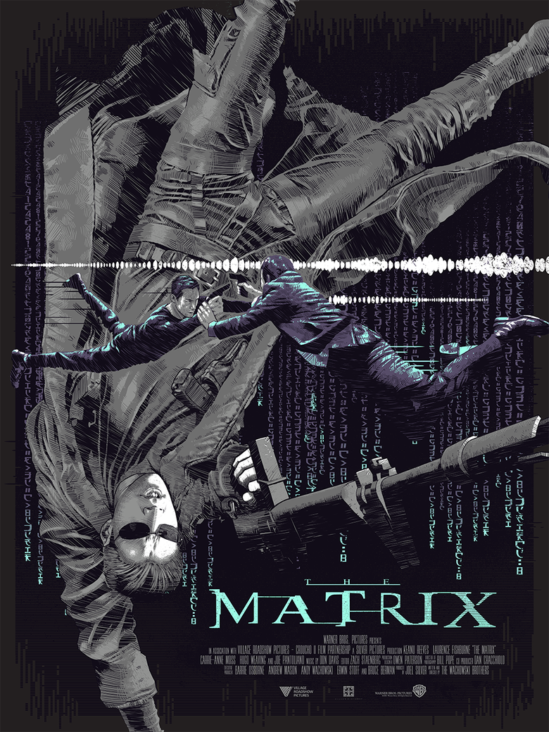 Image of THE MATRIX - HE IS THE ONE