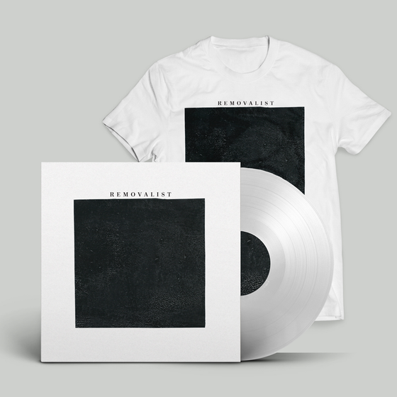 Image of REMOVALIST S/T LP (White w/ Tee)
