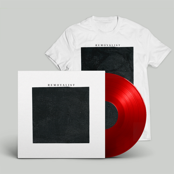 Image of REMOVALIST S/T LP (Red w/ Tee)