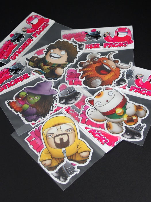Image of 30 Days of Squids: Episode 2 Stickers - Individuals Pack 2