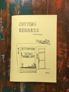 "Image of Darren Hanlon - ""Cutting Remarks"" Vol 1 Zine"