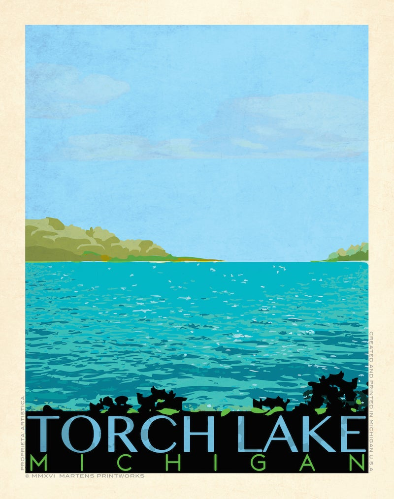Image of Torch Lake Special Edition Print No. [056]