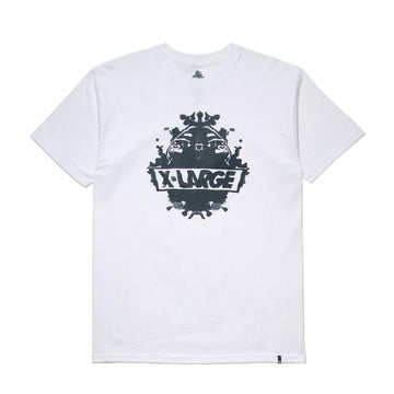 Image of XLARGE - RORSCHACH SS TEE (WHITE)