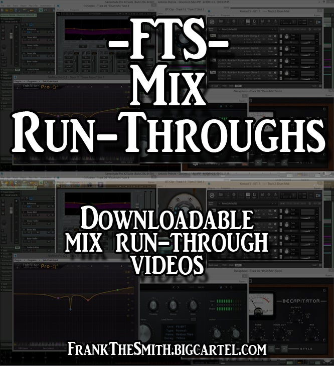 Image of FTS Mix Run-Through Videos