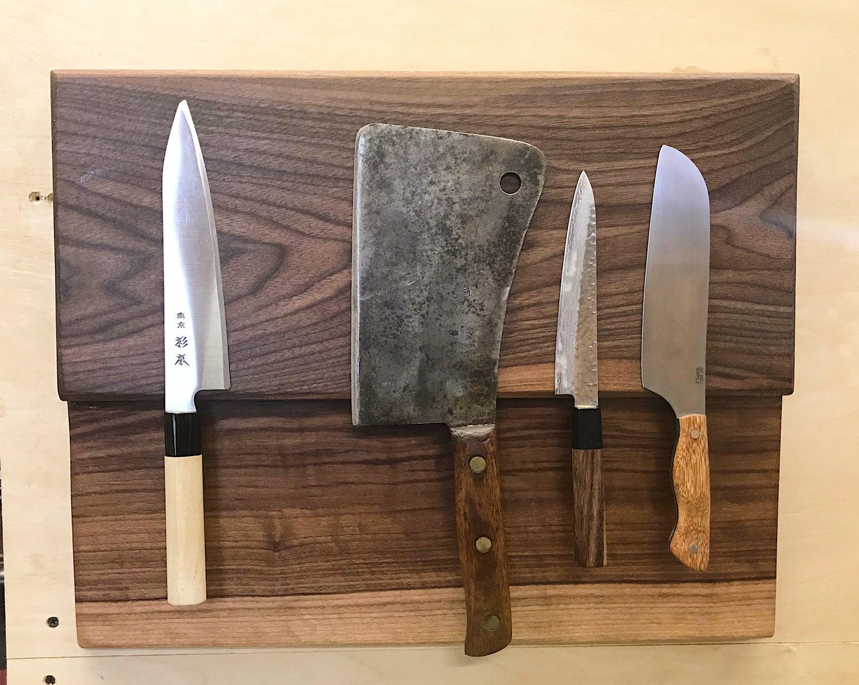 Full Magnetic Wall Hanging Knife Rack Borkwood