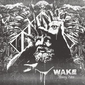Image of WAKE - Misery Rites LP