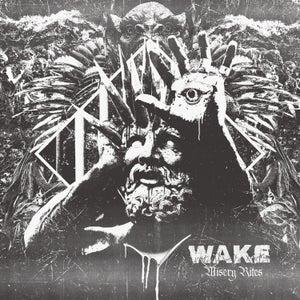 Image of WAKE - Misery Rites LP *Preorder