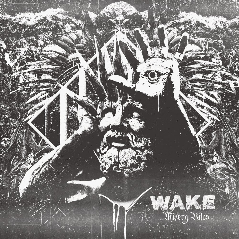 Image of WAKE - Misery Rites LP & T-Shirt Package - Preorder