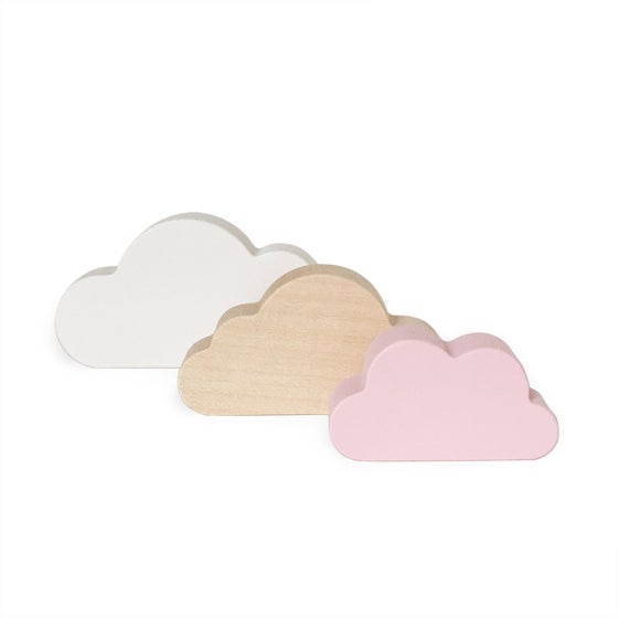 Image of Nuages blanc-rose