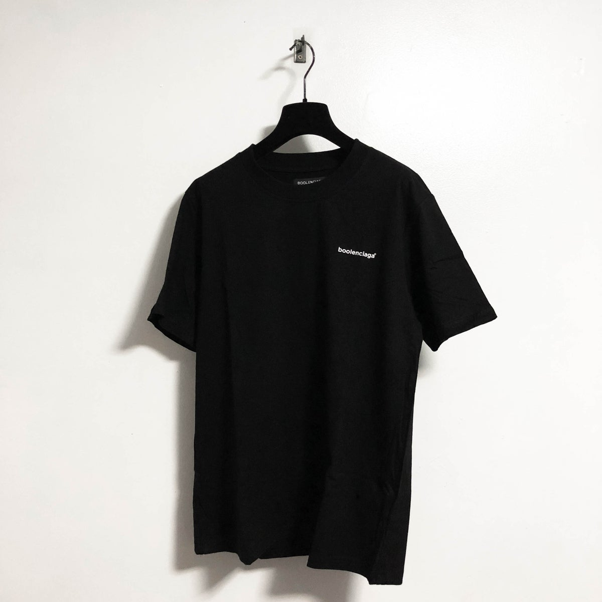Image of Black Boolenciaga Tee