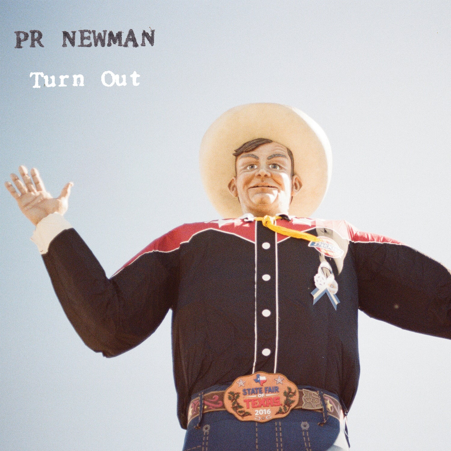 Image of (PRE ORDER!) PR Newman - Turnout LP (vinyl)