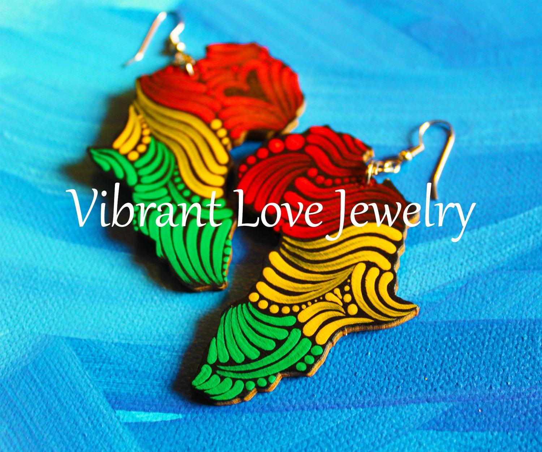 Image of Africa Earrings!