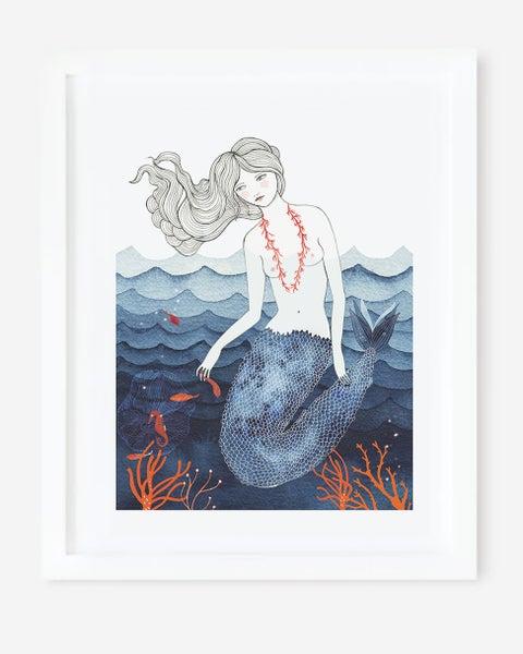 Image of Lámina Sirena