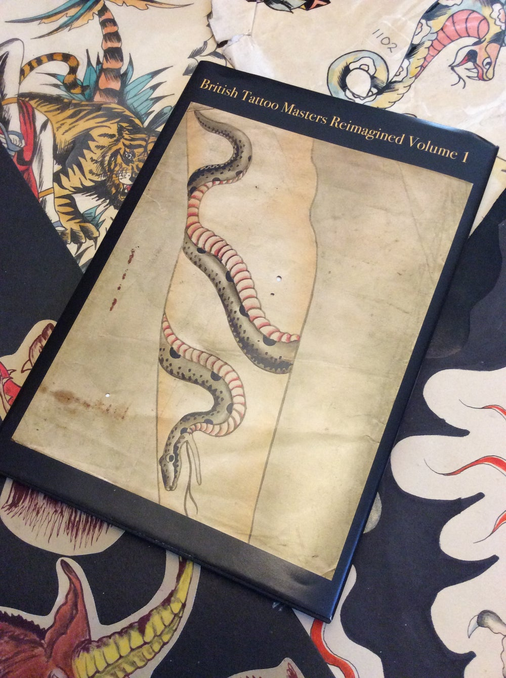 Image of British Tattoo Masters Volume 1