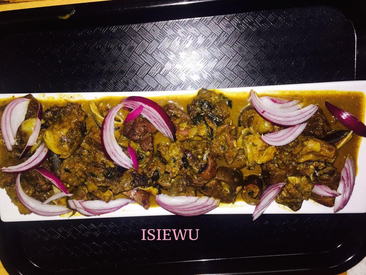 Image of Isiewu (Goat Head)