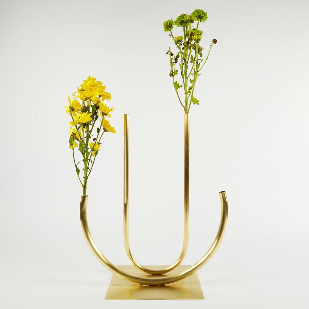 Image of Vase 00211 - Double Circle U Vase