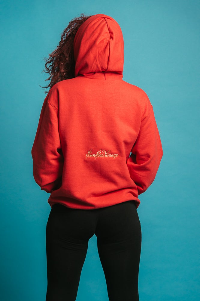 Image of SUNSET FASHION HOUSE - Hoodie (Red)