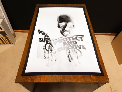 Image of Peter Kennard · Protest & Survive · Screen Print Edition