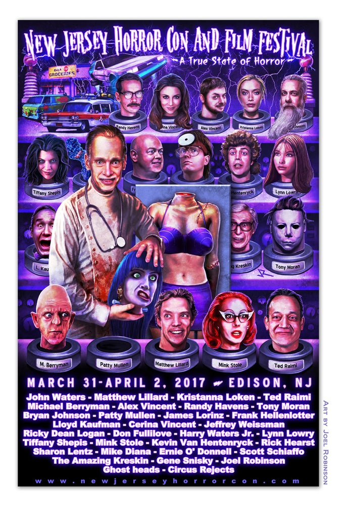 Image of 11x17 Spring 2017 poster by Joel Robinson