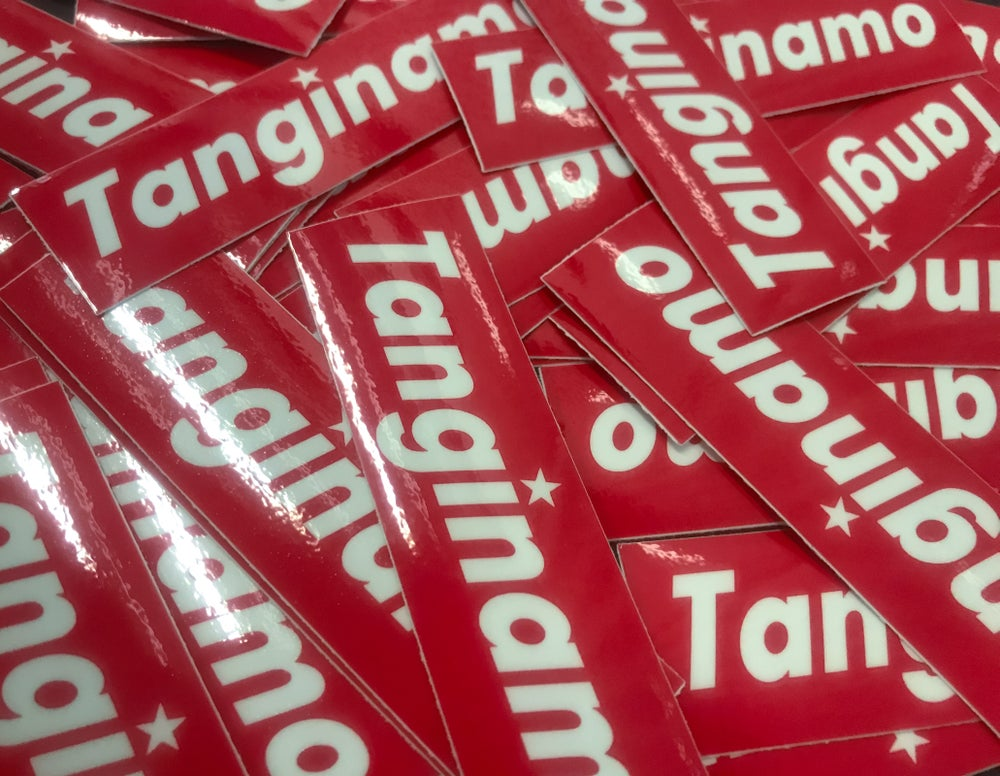 Image of TANGINAMO BOX LOGO SLAPS 8x2