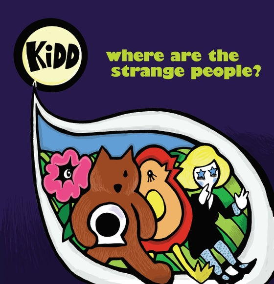 "Image of Kidd : ""Where are the strange people?"" Vinyl LP"