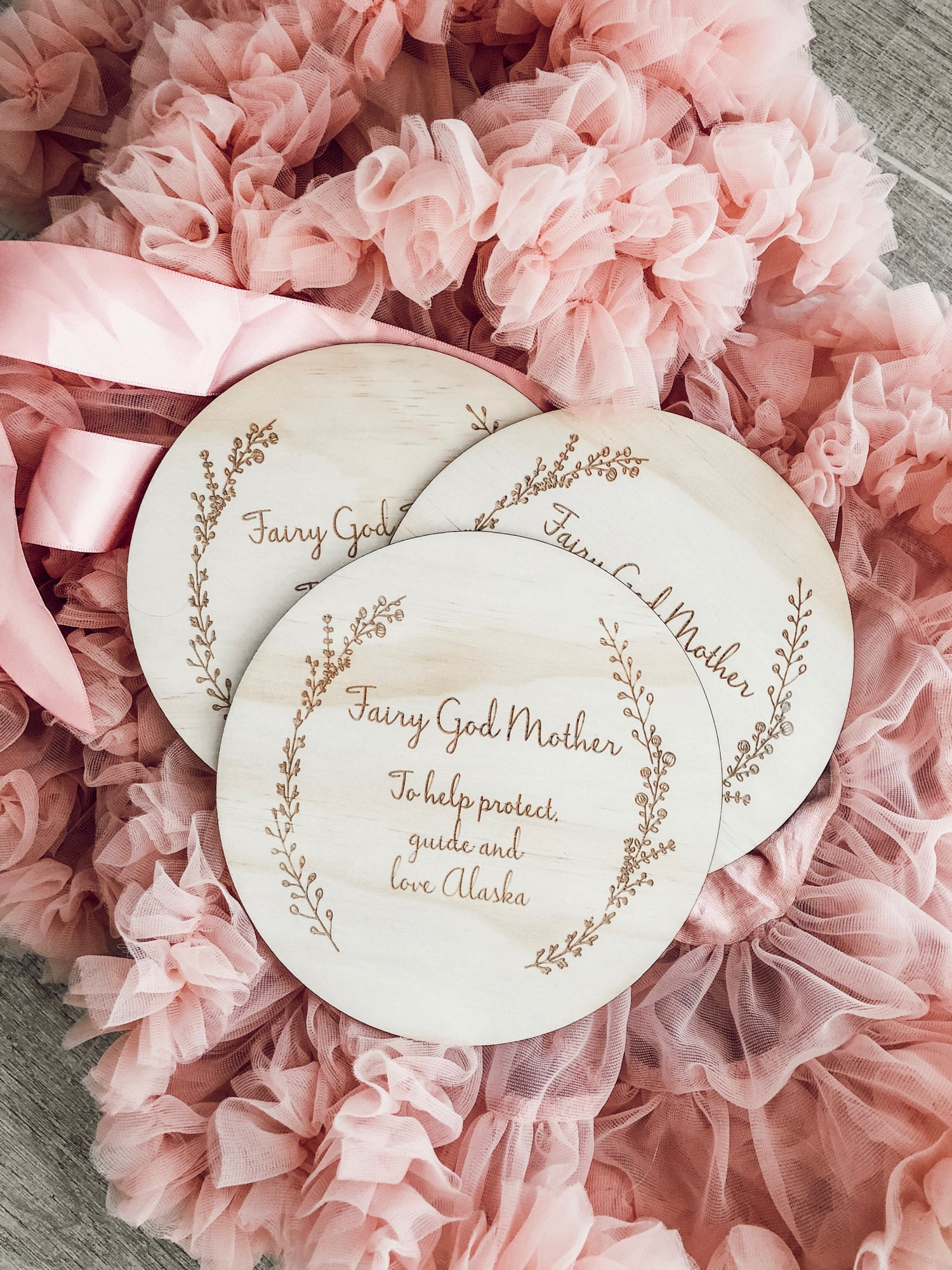 Image of FAIRY/GOD MOTHER/FATHER PLAQUES