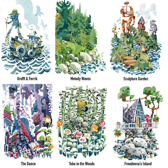 Image of Archipelagogo Watercolour Prints