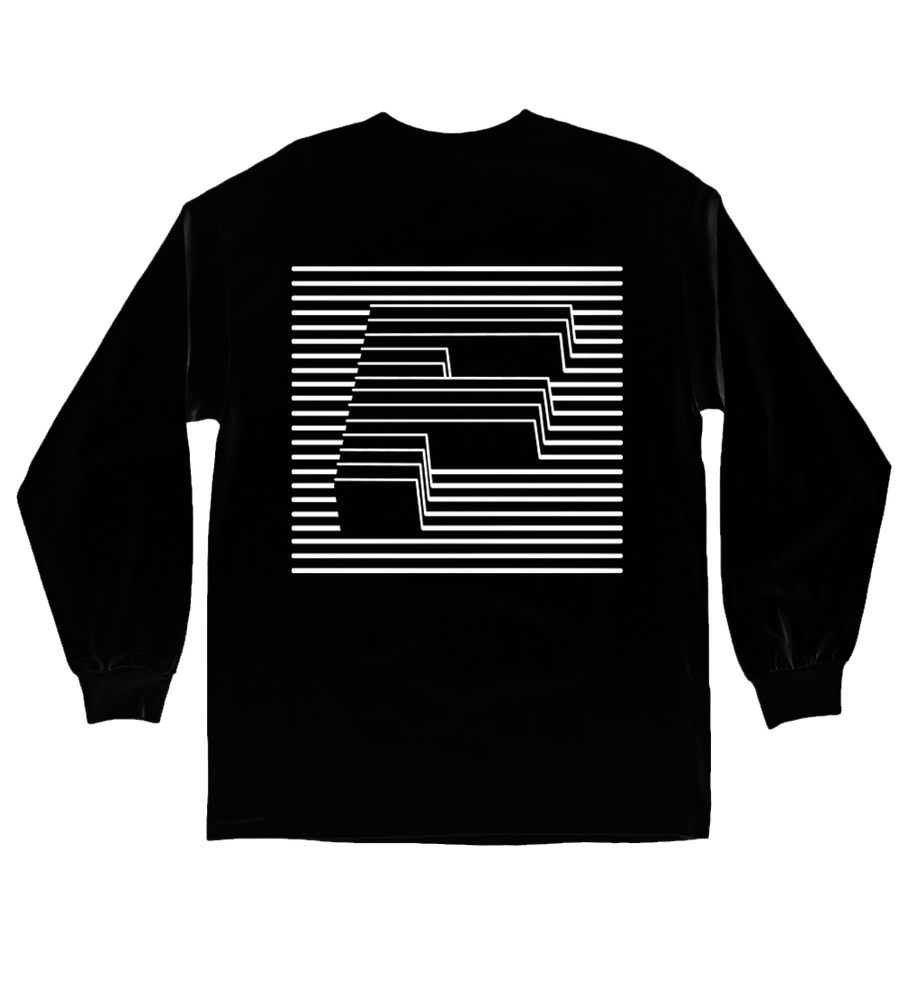 Image of F LINE Longsleeve - Black