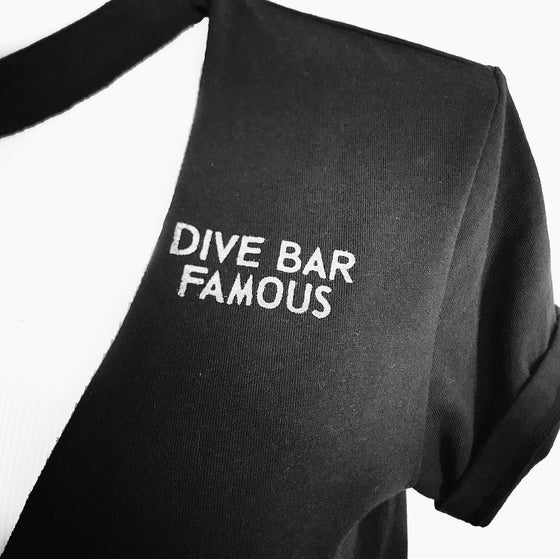 Image of Dive Bar Famous Distressed Tee or Tank
