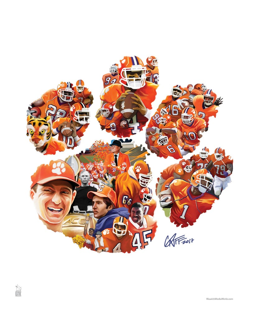 Image of Clemson Tigers Football