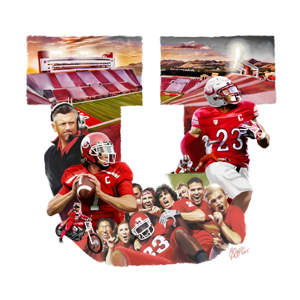 Image of Utah Utes Football