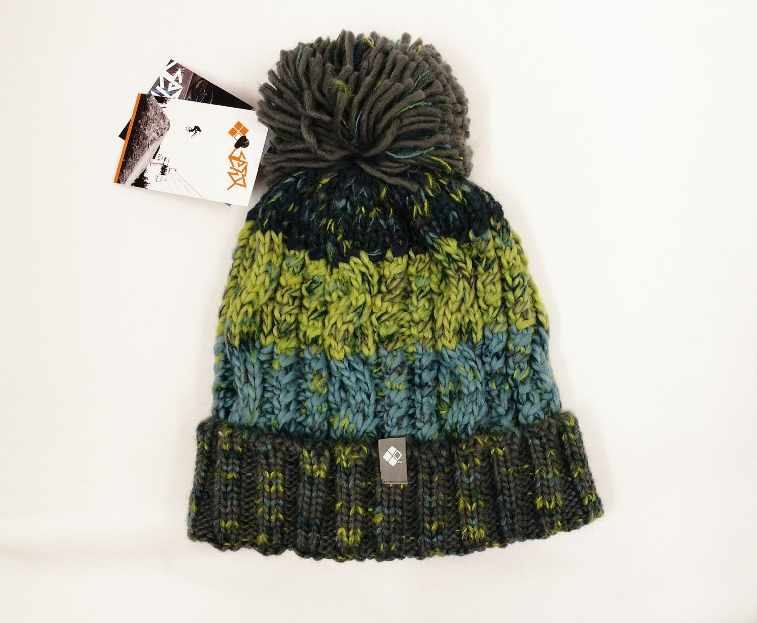 Image of HighPeak Knitted Beanie in Forest Grey