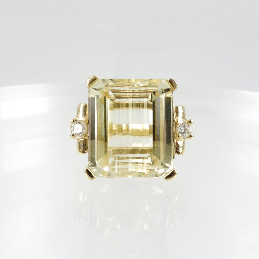 Image of Large Hidonite Cocktail Ring
