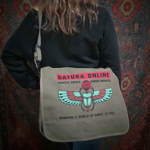 "Image of ""DO Scarab"" Messenger Bag"