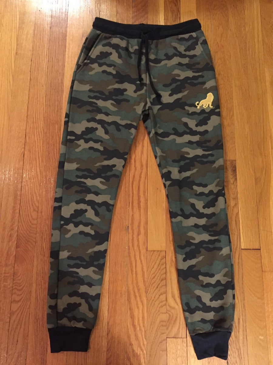 Image of León Camo Joggers (Made to order)