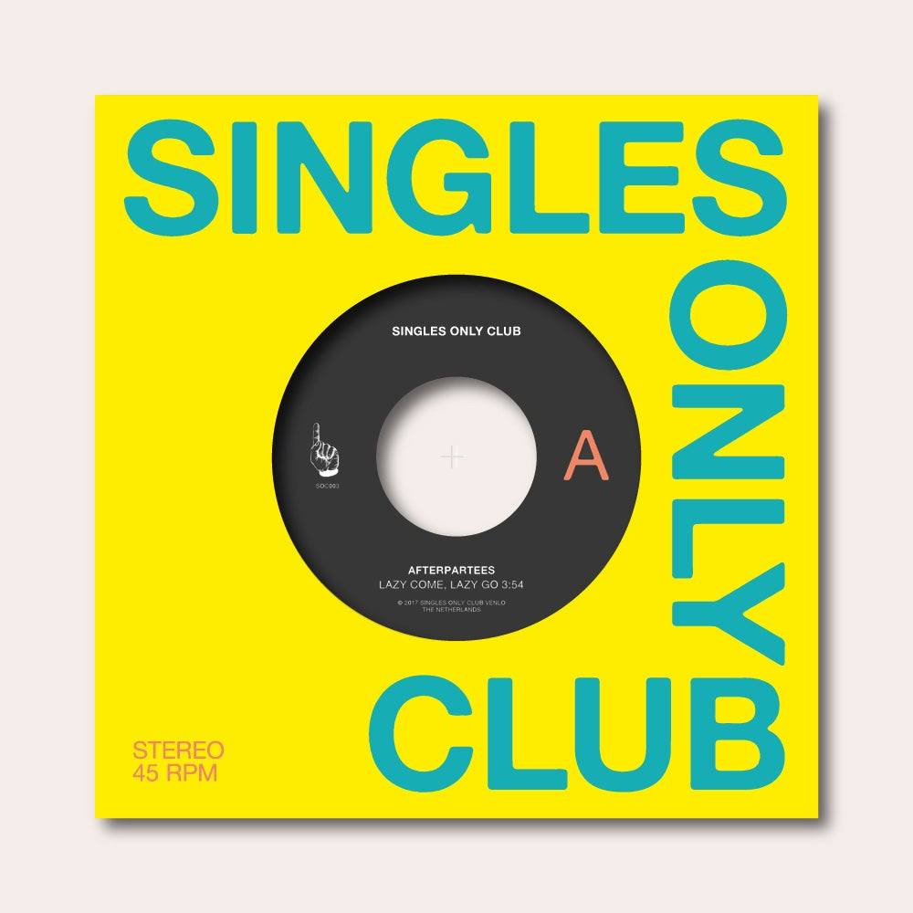 Image of Singles Only Club #003: Afterpartees