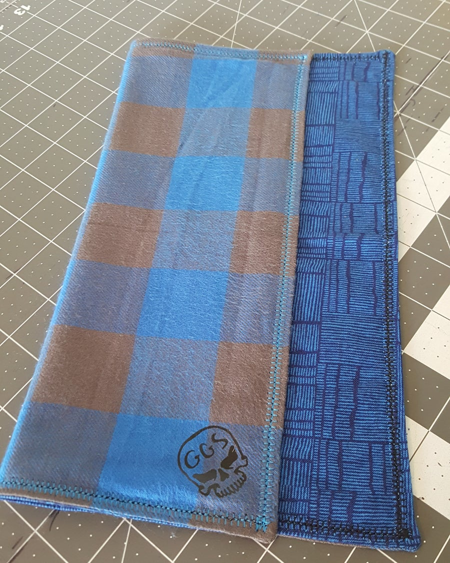 Image of Blue Grain Flannel