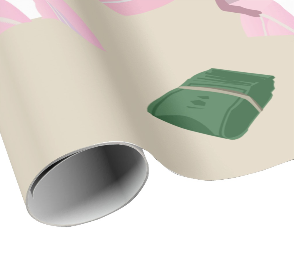 Image of RAPPING PAPER by HCS*: KILLA IN PINK