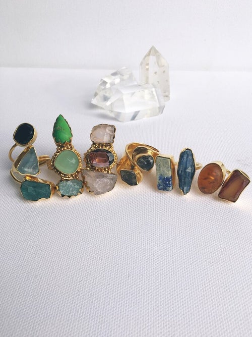 Image of MANDJANI • Crystal Rings