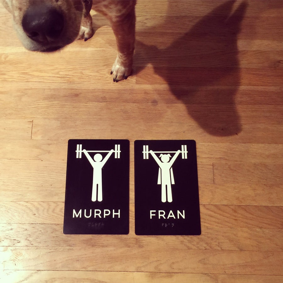 Image of Murph and Fran for Katie