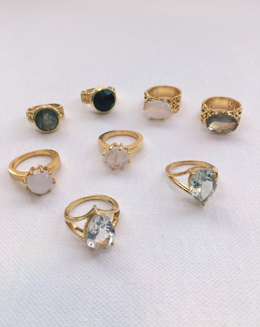Image of NOVA Crystal Rings