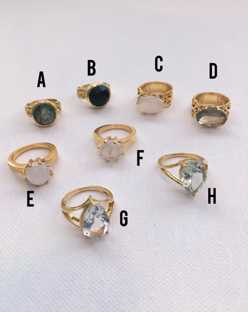 Image of NOVA Crystal Rings